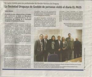 Diario El País - Sociedad Uruguaya de Gestión de Personas
